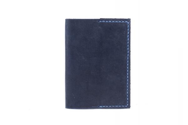 Обкладинка на паспорт синя