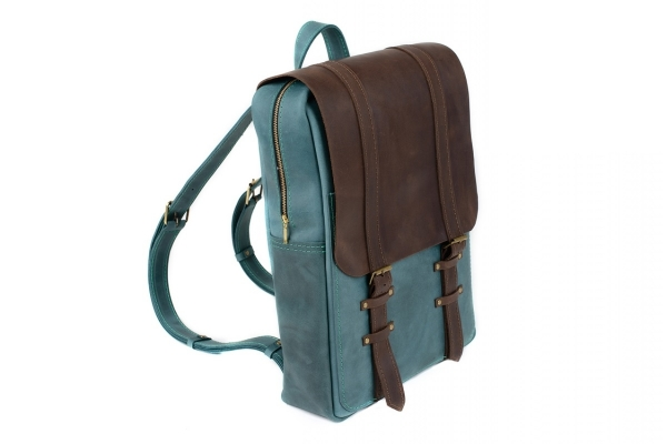 Рюкзак Raystone 844 зелено-коричневый